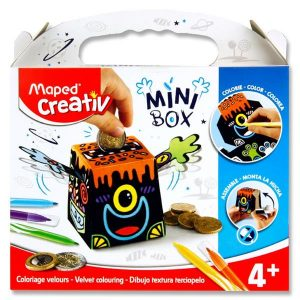 Creativ Mini Box - Velvet Colouring Money Box