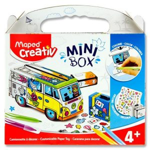 Maped Creativ Mini Box - Customizable Paper Toy Van