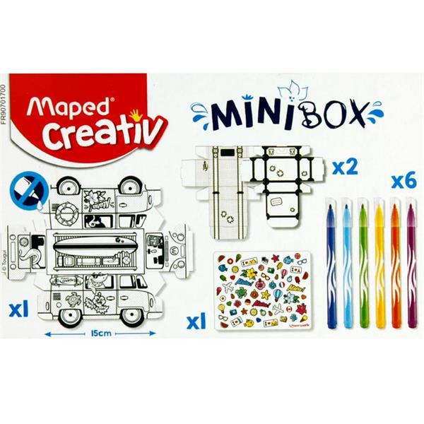 Creativ Mini Box - Paper Toy Van