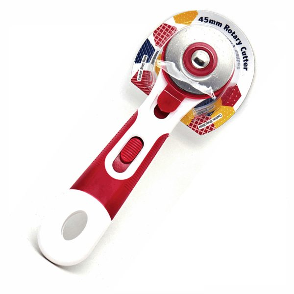 45mm Rotary Cutter: Red.