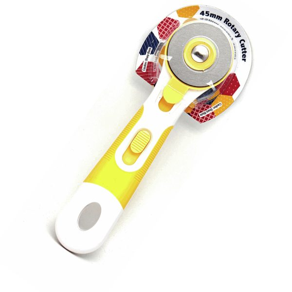 45mm Rotary Cutter: Yellow