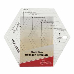 Multi-Size Hexagonal Ruler