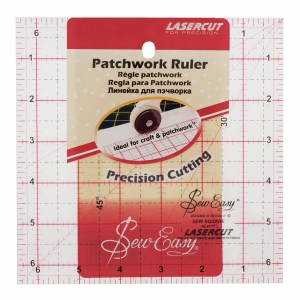 Ruler Patchwork Square 4.5 x 4.5in.