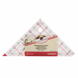 Ruler Patchwork Triangle: 4.5in.
