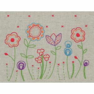 Embroidery Kit: Starter: Fleur