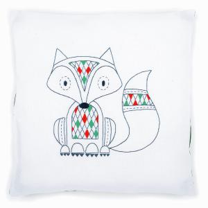 Embroidery Kit: Cushion: Fox