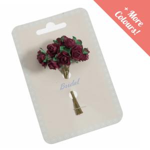 Mini Open Rose Flower Pack