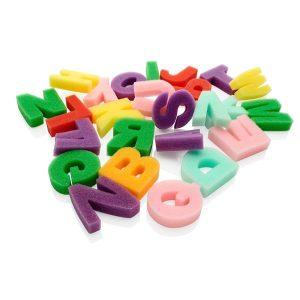 Sponge Alphabet A-z