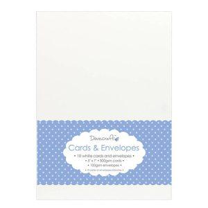 "White Card & Envelopes 5""x7"""