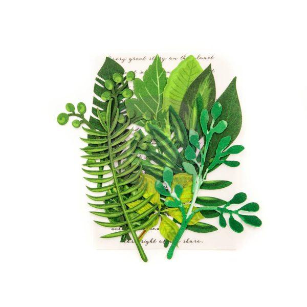 Evergreen Leaf Embellishment