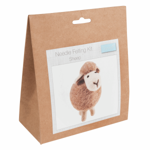 needle felt sheep