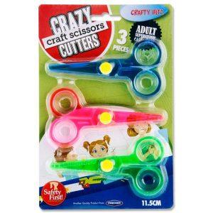 Crafty Bitz Card 3 Crazy Craft Scissors