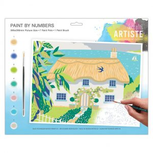Large Paint By Numbers - Country Cottage