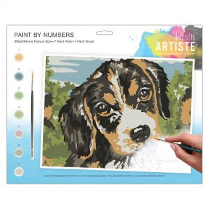 Paint By Numbers - Dog