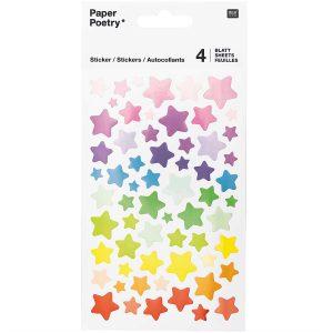 Rico Design Star Stickers