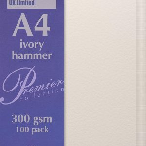 A4 Ivory Hammer paper