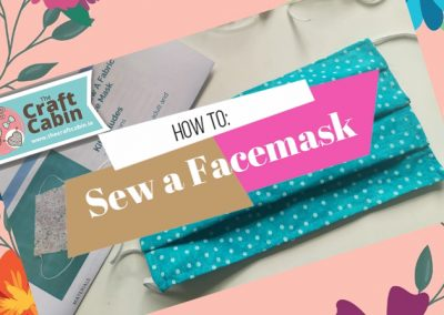 How To sew a Pleated Facemask