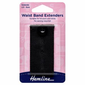 Black Waistband Extender