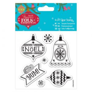 Christmas Stamp Baubles