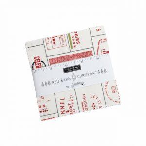 Red Barn Christmas Charm Pack
