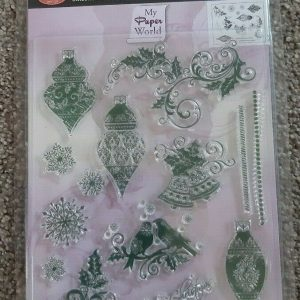 Silicone Stamp Set Baubles