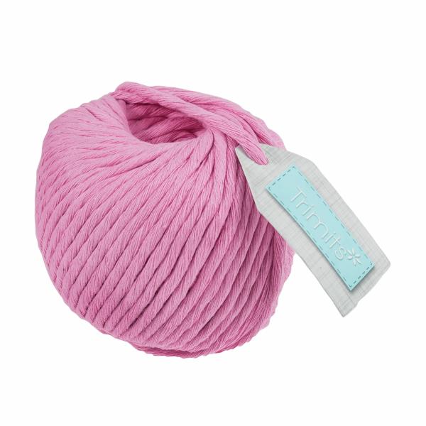 pink macramé cord