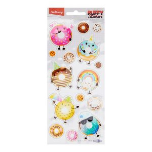 Puffy Stickers - Donuts