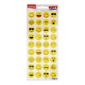 Puffy Stickers - Smilies