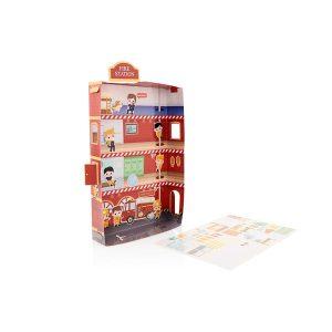 3D Sticker Pack Fire Station