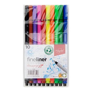 Fineliner Markers-Hexagrip