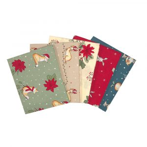 Christmas Critters Fat Quarters