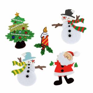 Assorted Christmas Craft Embellishments