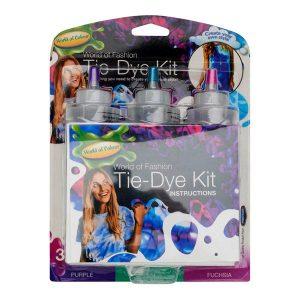 Tie-dye Kit - Purple/teal/fuschia