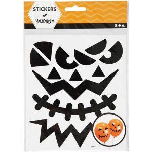 Pumpkin Face Stickers
