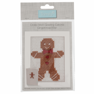 Cross Stitch Kit Card - Gingerbread Man GCS30.png