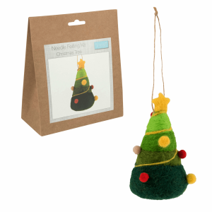 Christmas Tree Needle Felting Kit