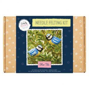 Needle Felting Kit : Blue Tit